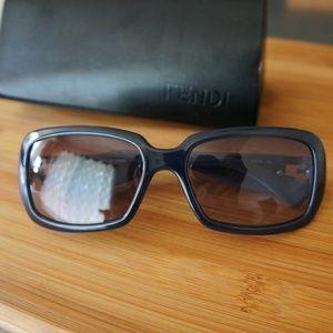 Fendi Sunglasses FS 451 Womens Blue Gray 059 NEW